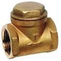 клапан обратный подъемный латунный муфтовый Ø 15 - 50